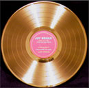 Joy Behar Vegas Fantasy Wedding 12 inch Gold Record