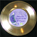 7 inch Easelback Gold Record Yacht Club Award